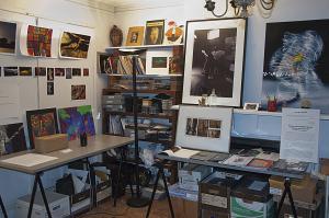 Peter Angelo Simon's studio, Brooklyn, NY